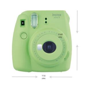 Fujifilm Instax Mini 9 Party box, Lime Green Instant Camera