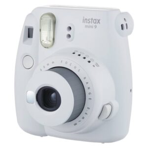 Fujifilm Instax Mini 9 Party box, Smoky White Instant Camera
