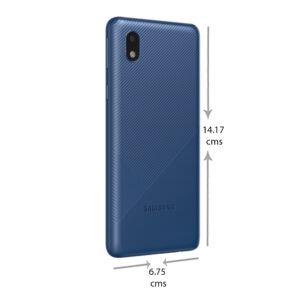SAMSUNG M01 core (Blue, 32 GB)  (2 GB RAM)