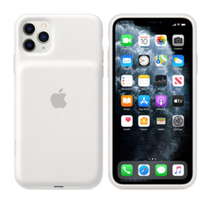 iPhone 11 Pro Max Smart Battery Case with Wireless Charging – White