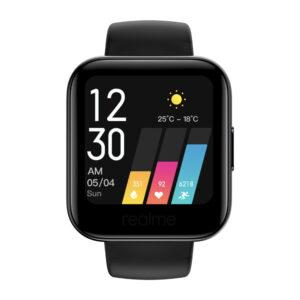 Realme Classic Smart Watch  (Black Strap, Regular)