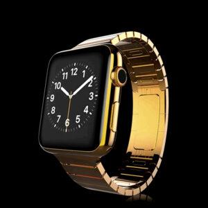 APPLE WATCH 24K CARAT GOLD PLATED